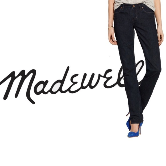 Madewell Denim - Madewell Rail Straight Denim Jeans 28/34